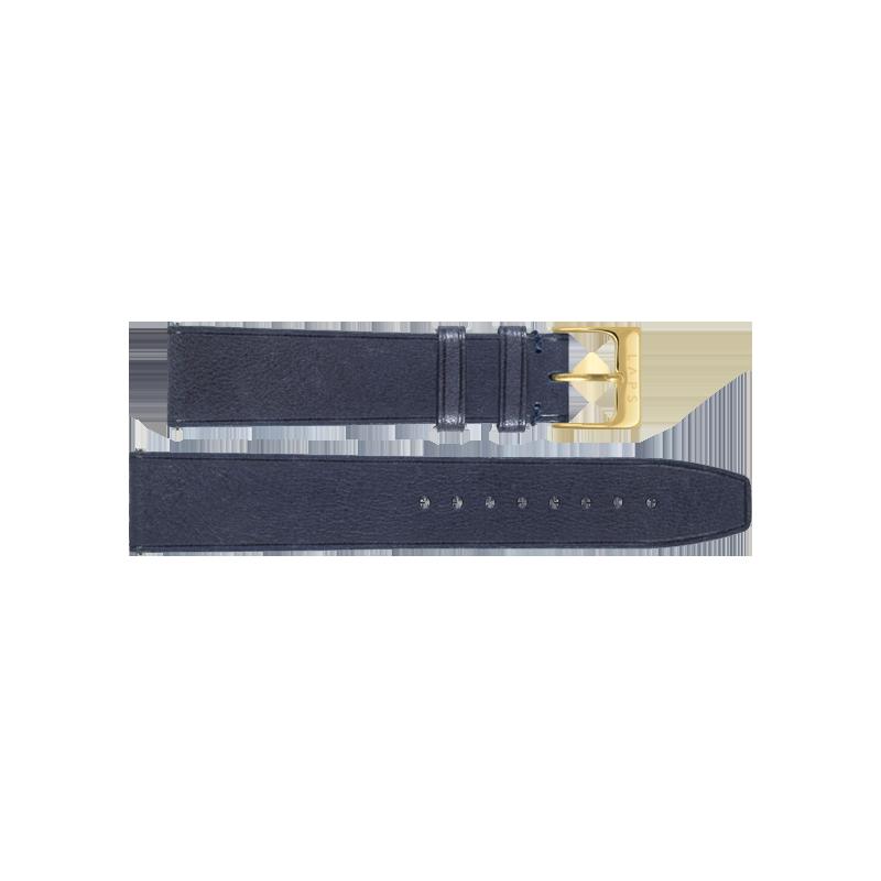Bracelet montre LAPS Cuir Indigo - Or
