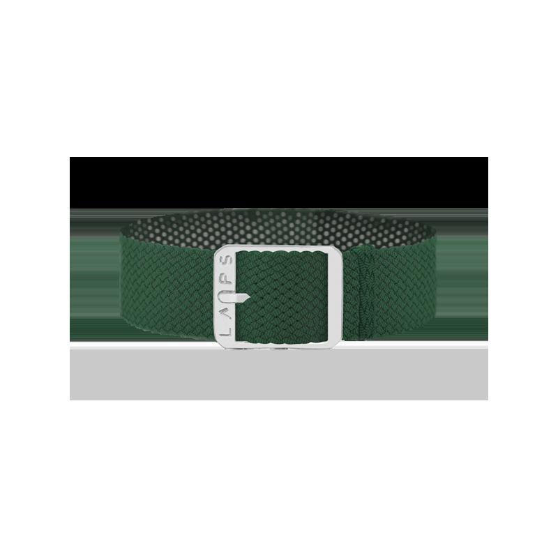 Bracelet Vert Empire - Argenté
