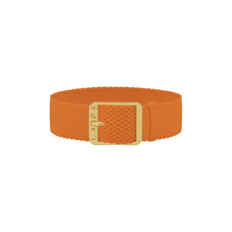 Tobacco Watch Band - 26mm / Gold