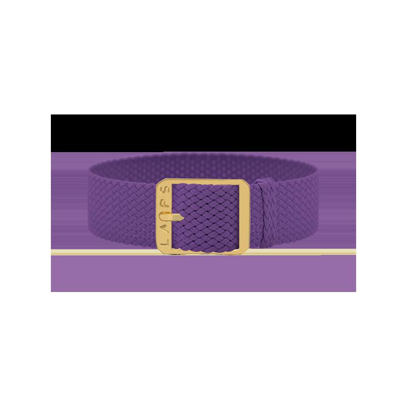 Bracelet de montre LAPS violet - Or