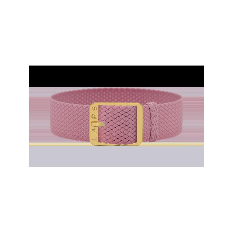 Bracelet perlon de montre LAPS Rose - or