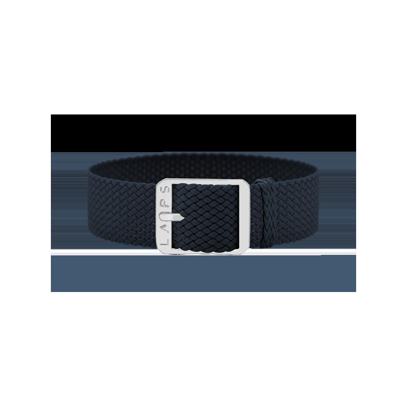 Bracelet bleu nuit - doré