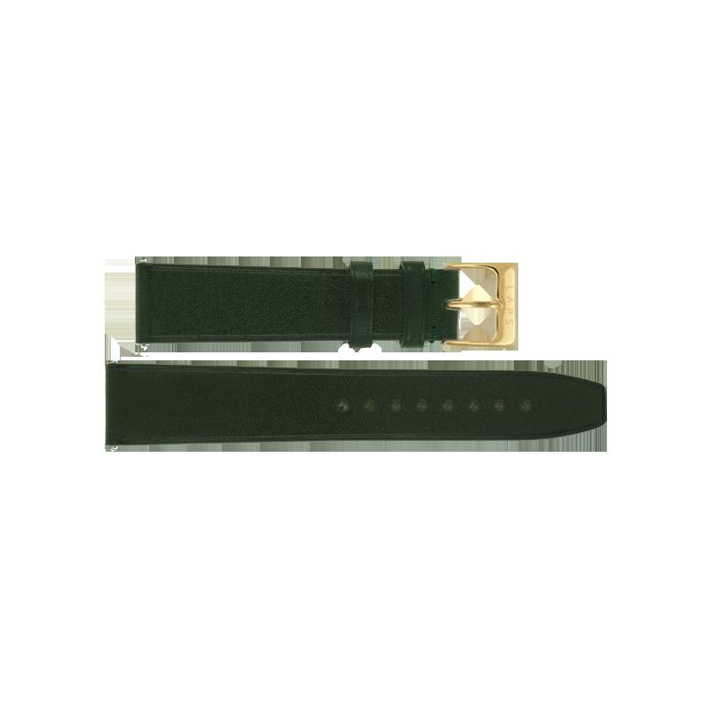 LAPS Bracelet Cuir Vert Empire - Or