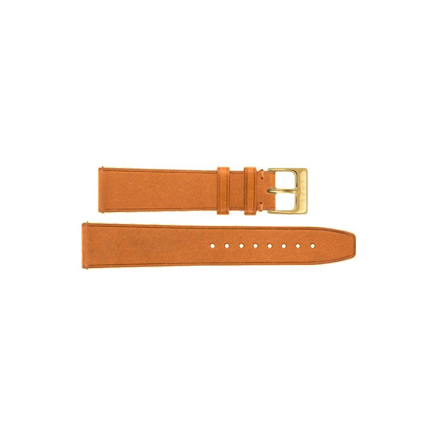 Bracelet cuir Camel - Or